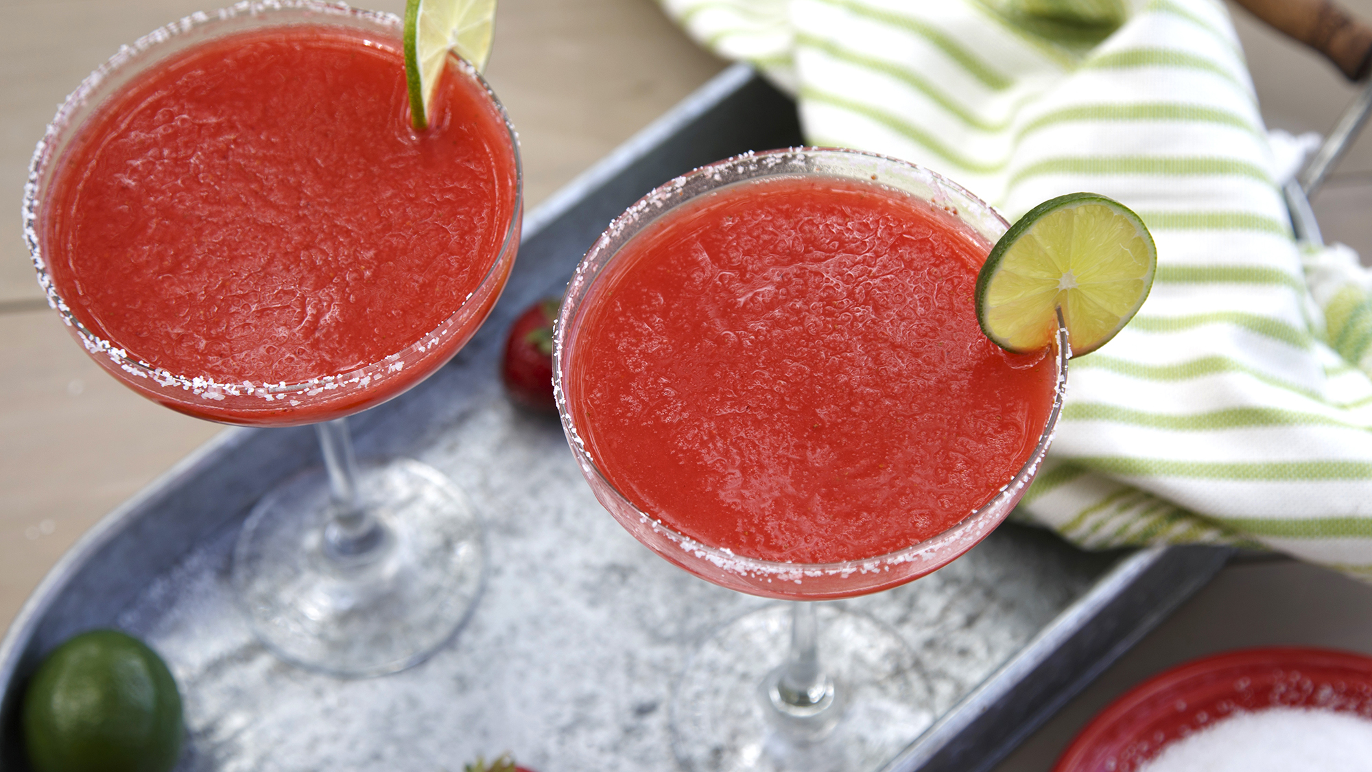 McCormick Strawberry Lime Frozen Margaritas