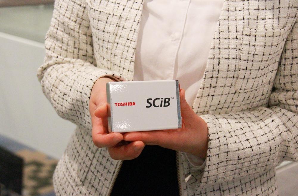 SCiB™のセル(二次電池の最小単位)