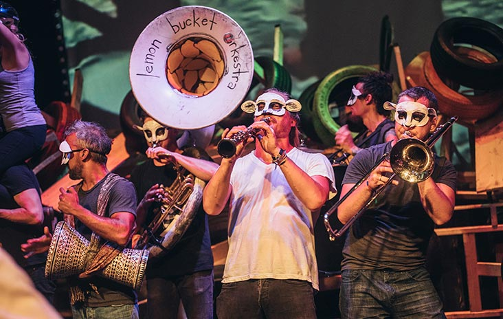 Exuberant music theatre at the Edinburgh Festival