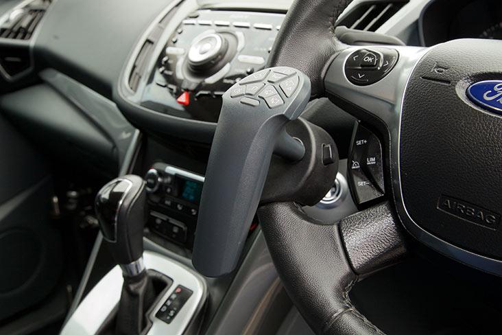 Car adaptation remote control device