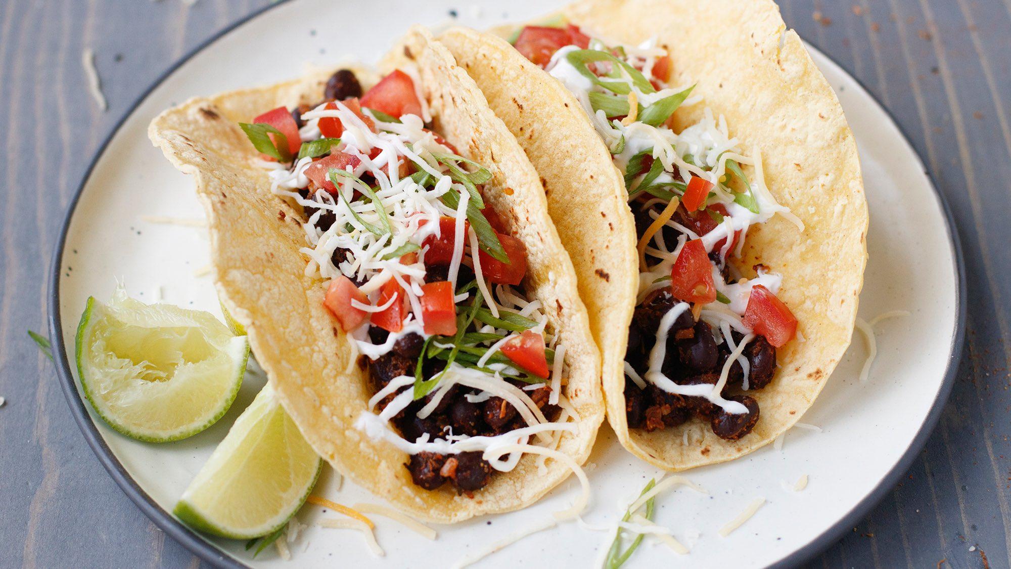 McCormick Black Bean Tacos