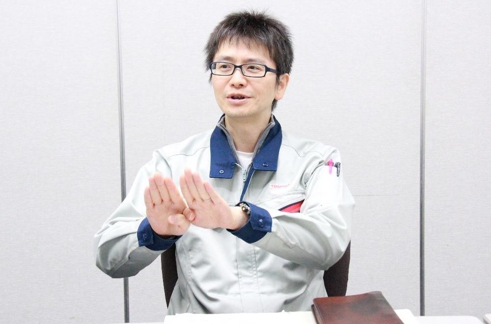 東芝エネルギーシステムズ株式会社 京浜事業所 原動機部 参事 前野敦氏