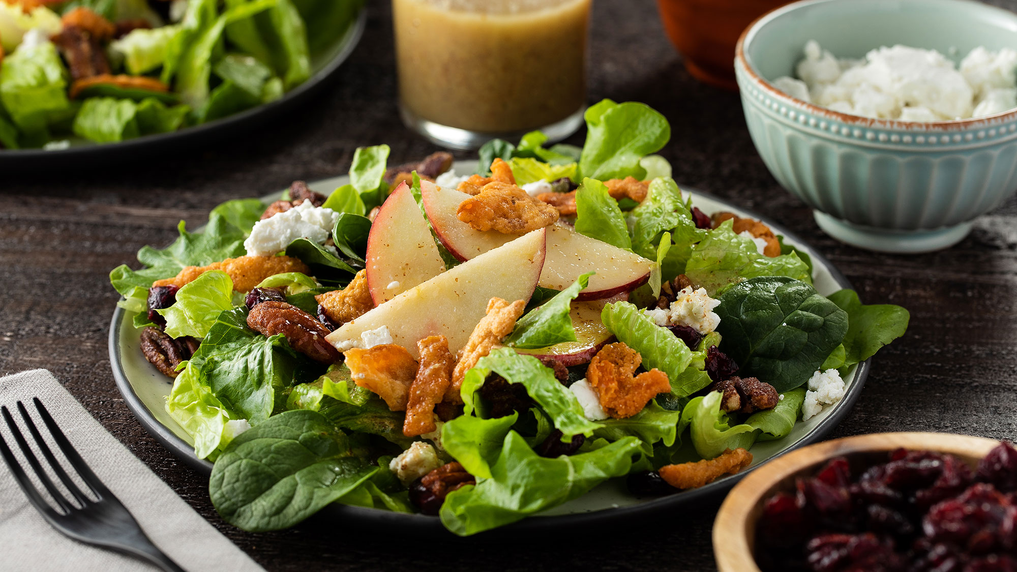 McCormick Harvest Salad with Sweet Dijon Vinaigrette
