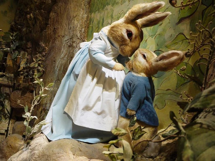 Tableau at the World of Beatrix Potter
