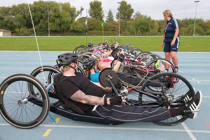 Handcycling taster day