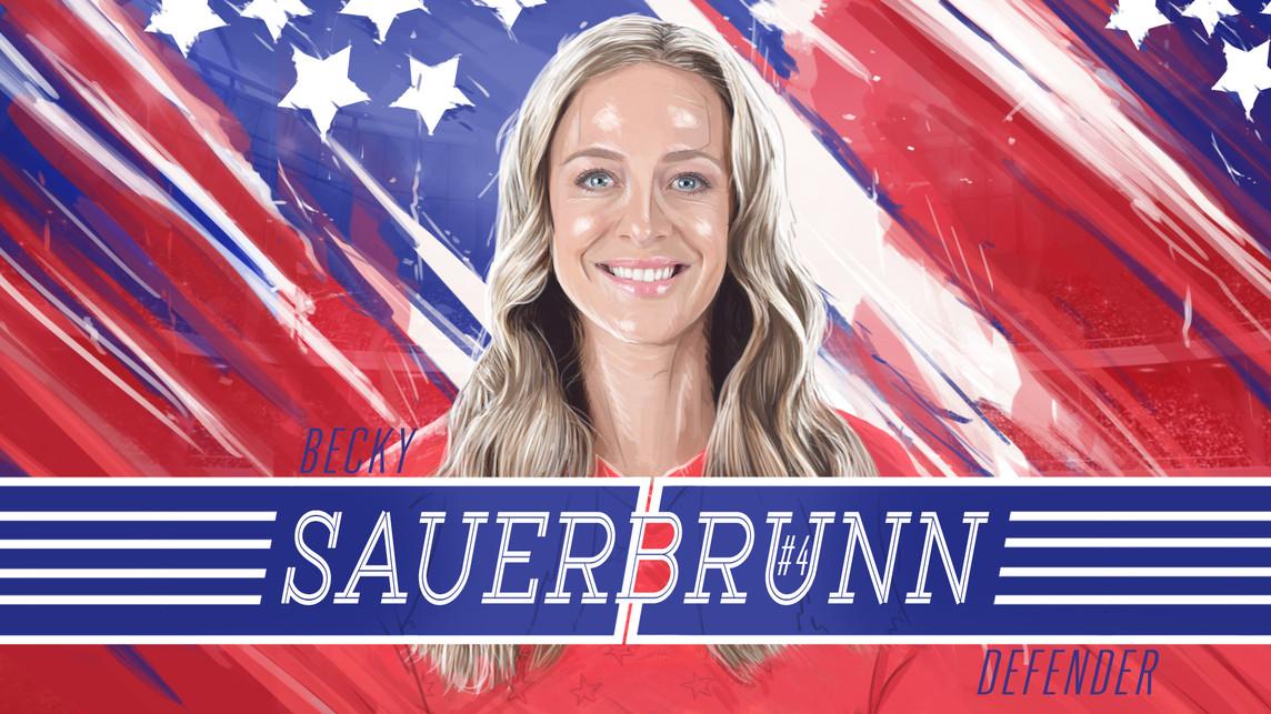 USWNT Becky Sauerbrunn