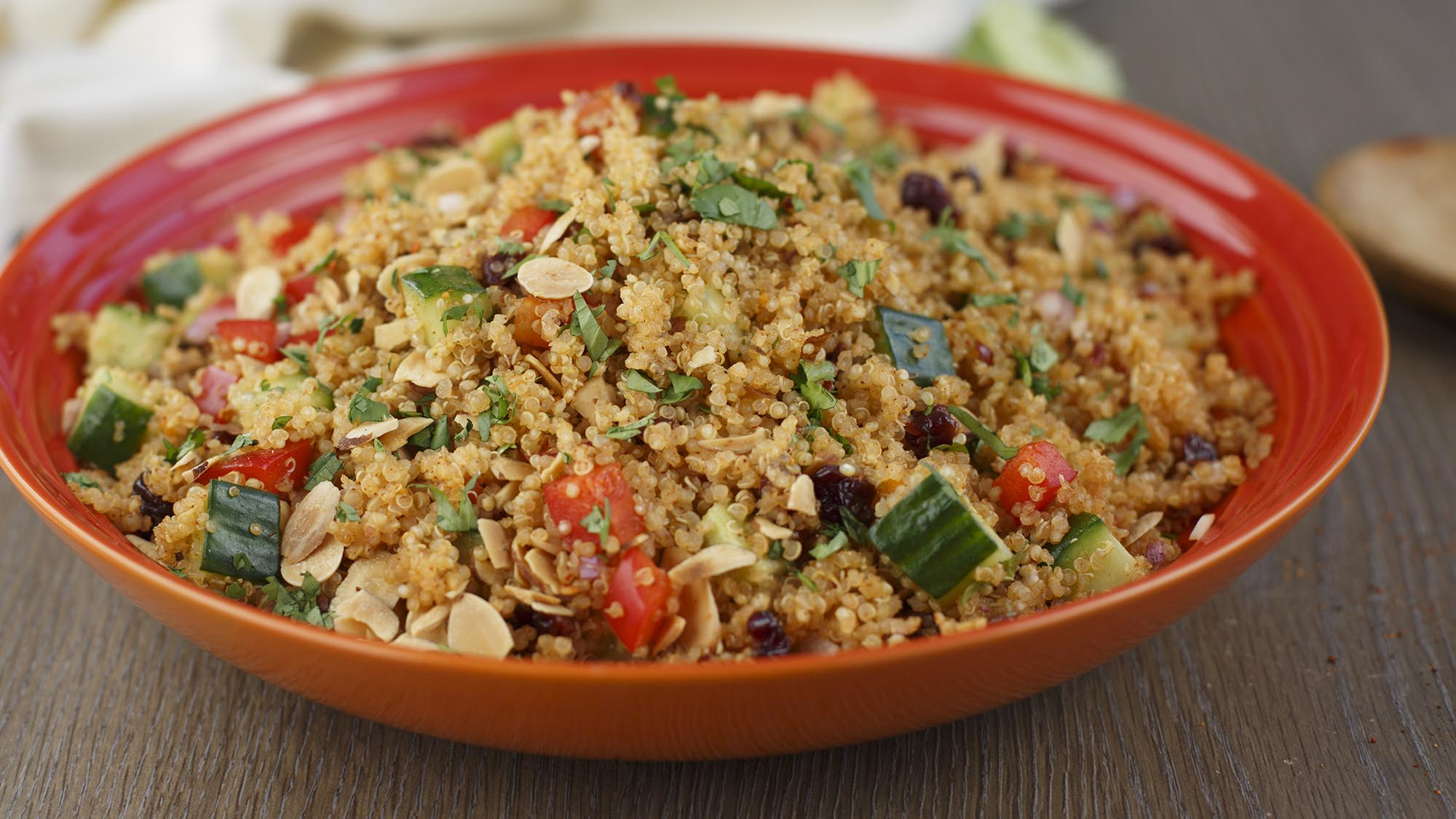 McCormick Quinoa Salad with Cherry and Almonds