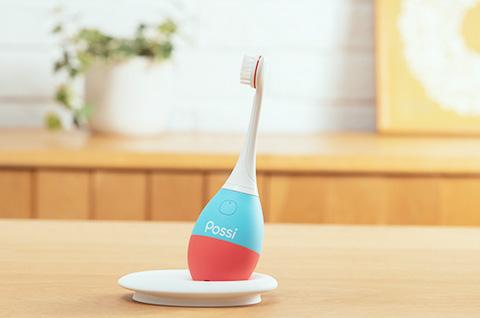 写真 : 子ども向け仕上げ磨き専用歯ブラシ「Possi(ポッシ)」