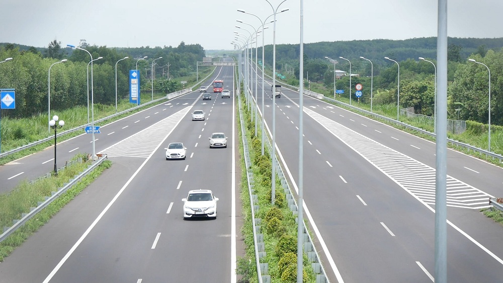 ベトナムの高速道路
