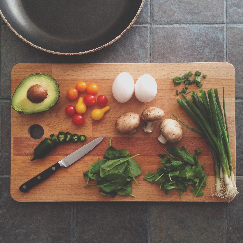 recipe sites' visual social strategies
