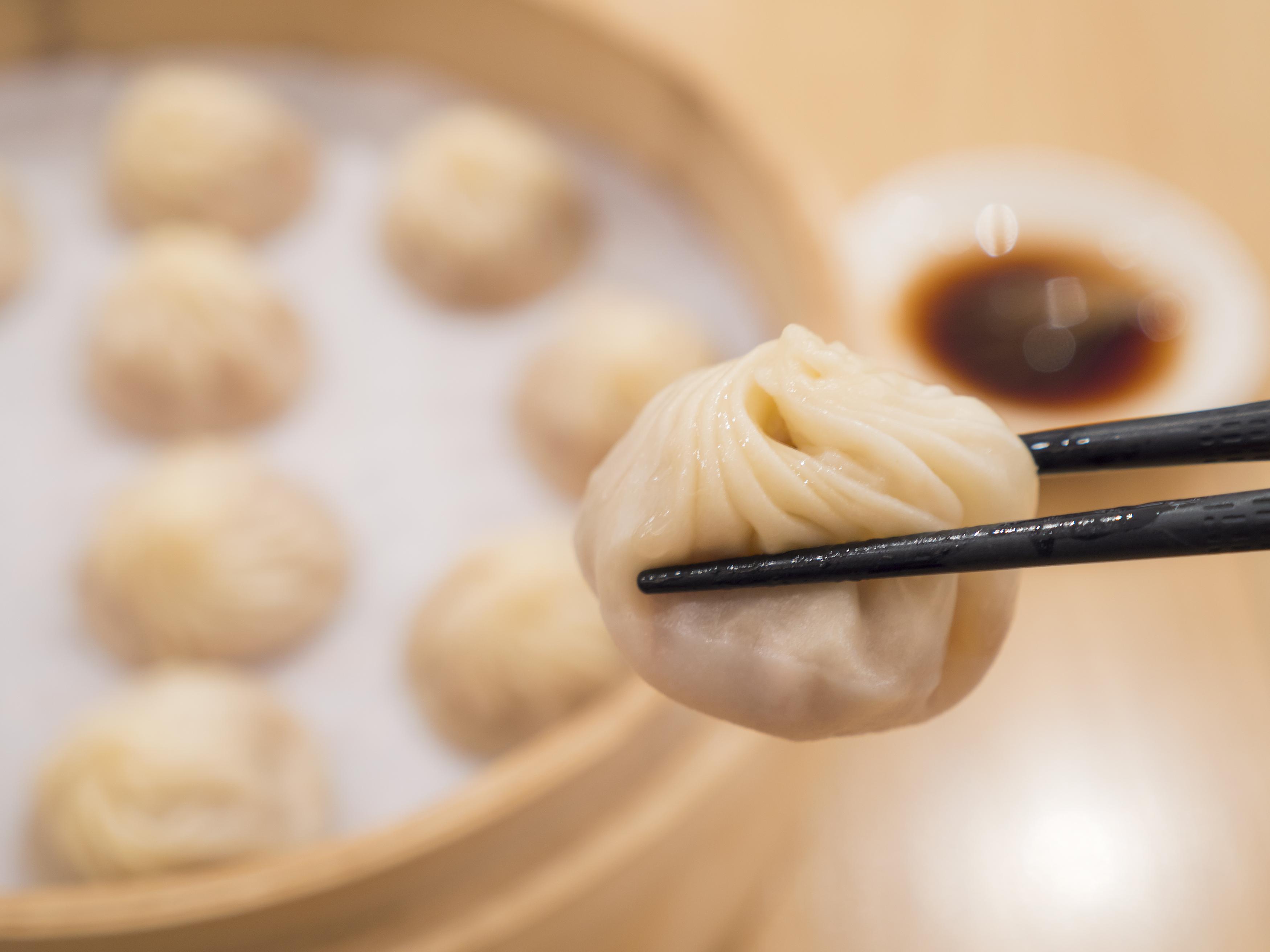 Closeup of Xiao Long Bao 1