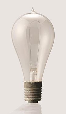 日本初の炭素電球
