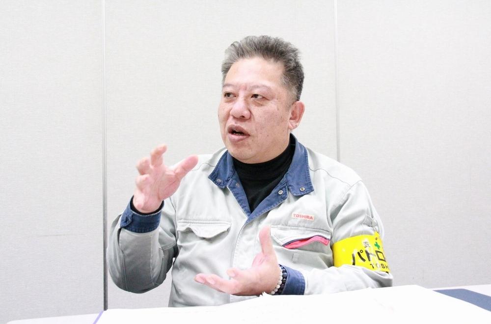 東芝エネルギーシステムズ株式会社 京浜事業所 原動機部 タービン組立課 課長 南勧次氏