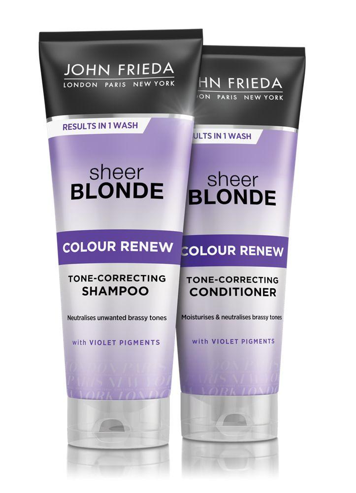John Frieda Purple Shampoo and Conditioner