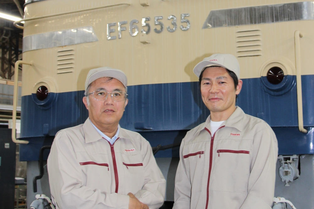 Akira Miyazaki and Masahiro Yamada