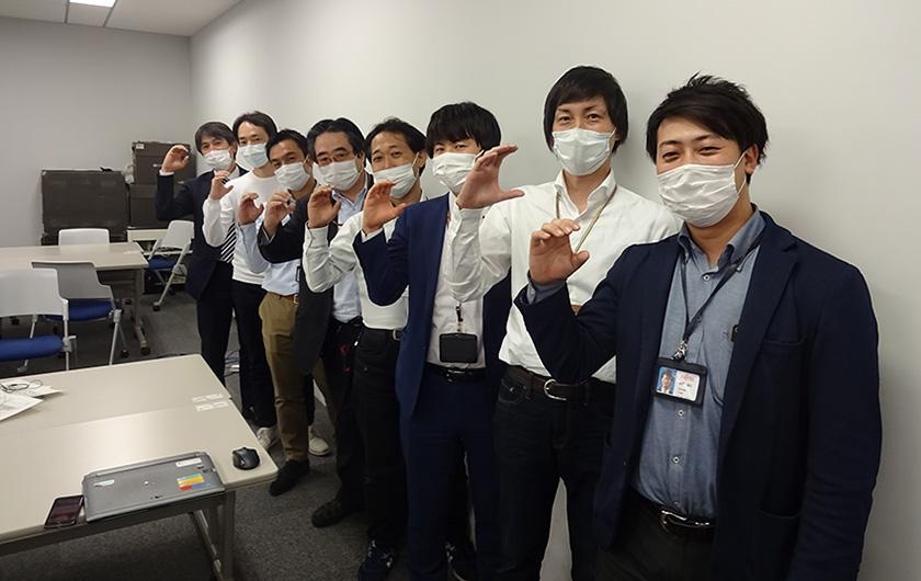 写真 : 国難に貢献したいと志願者が集まった、新型コロナウイルス感染症対策チームメンバー