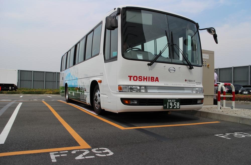 2017年まで環境省委託事業「CO2排出削減対策強化誘導型技術開発・実証事業」の一環として実施したEVバスの実証走行