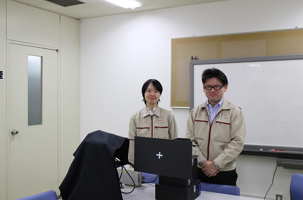 Higashi and Hata, solving lighting problems one by one