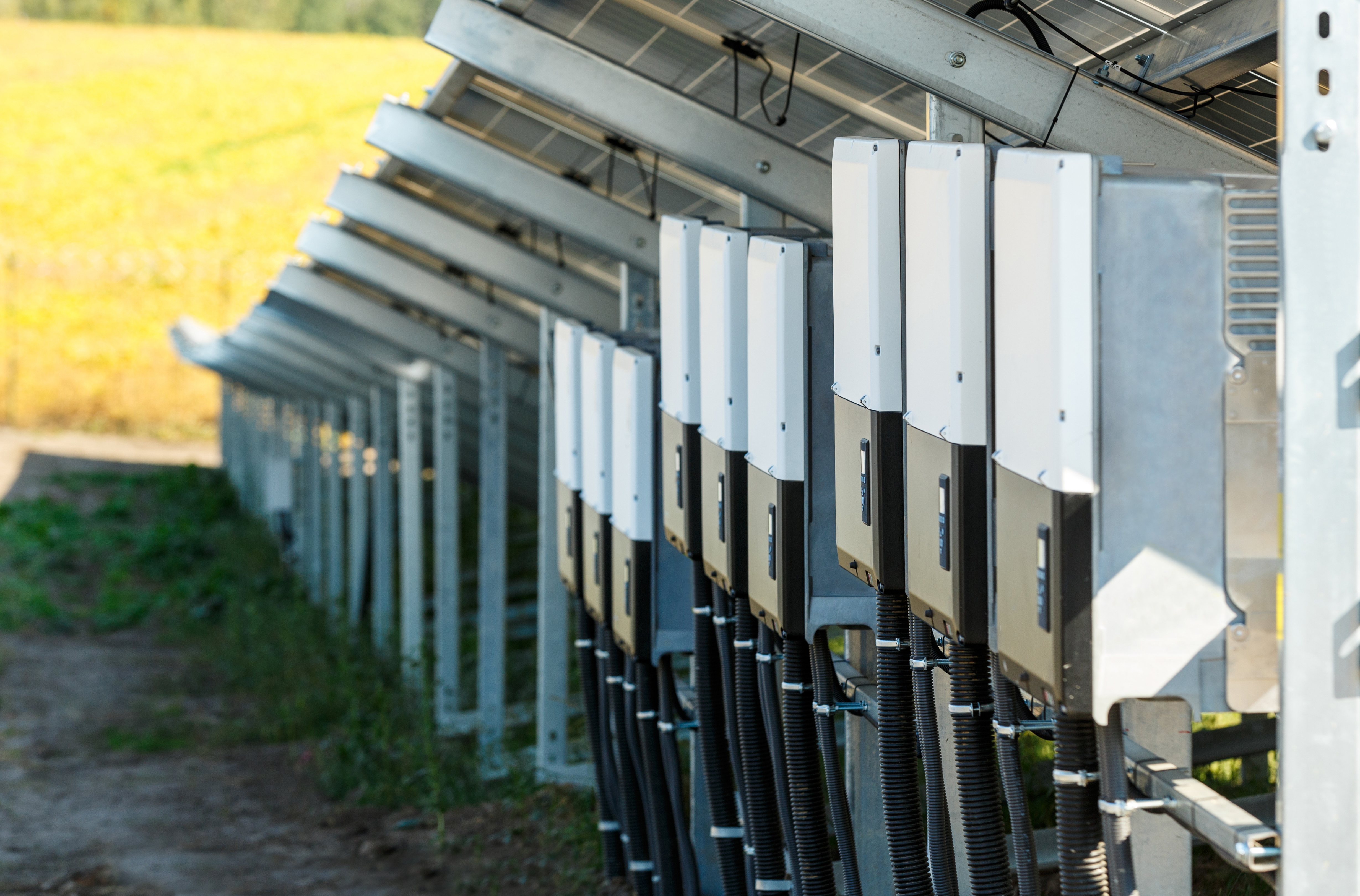 Inverters for solar photovoltaic modules using renewable solar energy