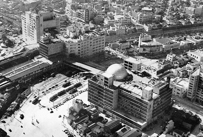 1960年代の東京・渋谷の様子