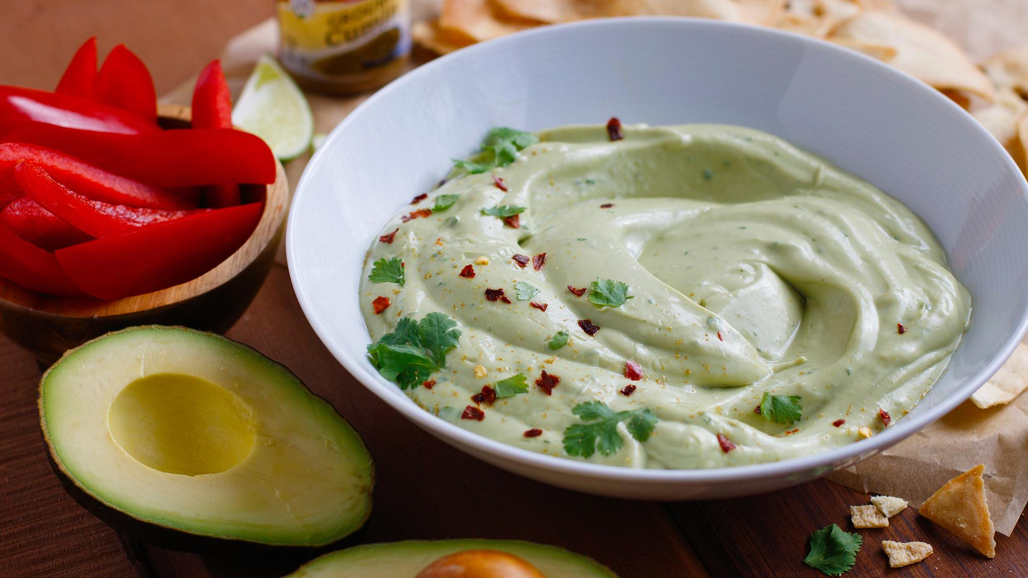 McCormick Avocado Yogurt Dip