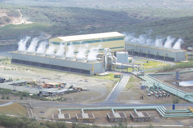ケニア オルカリア4号地熱発電所