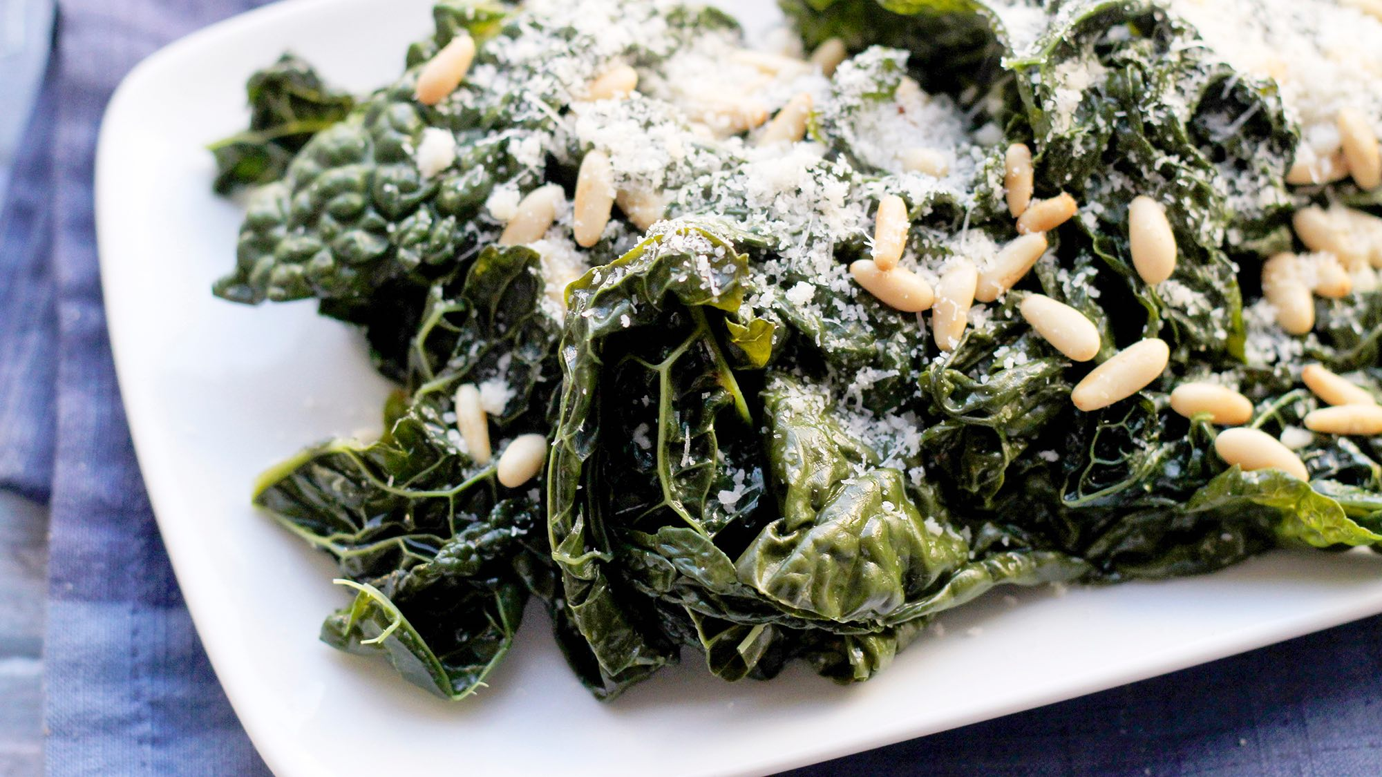 McCormick Sautéed Greens With Pine Nuts & Parmesan Cheese