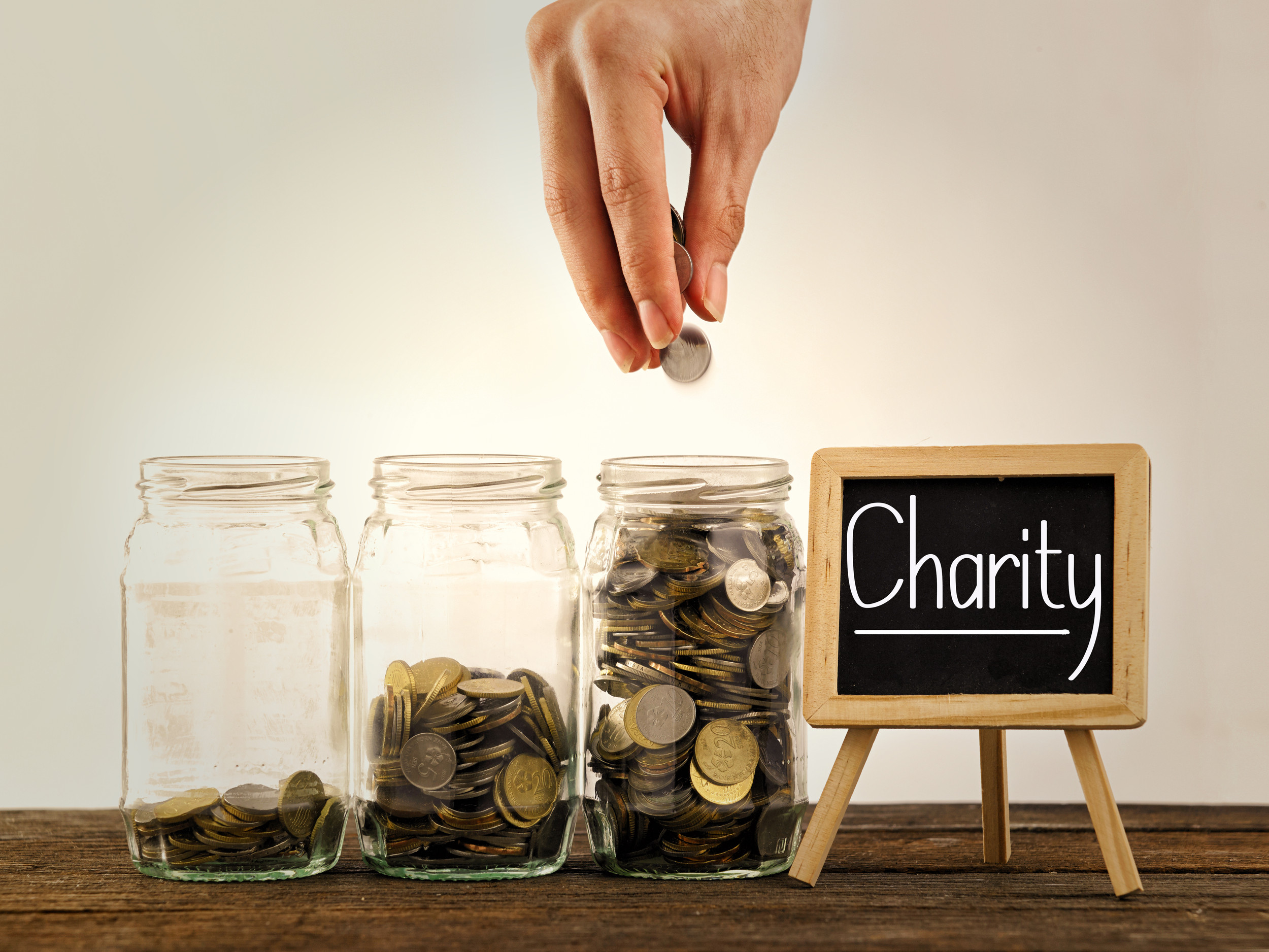 Start your own charity