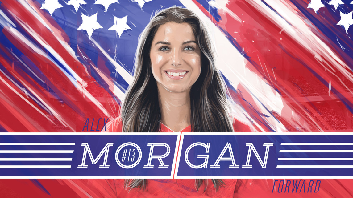 USWNT Alex Morgan
