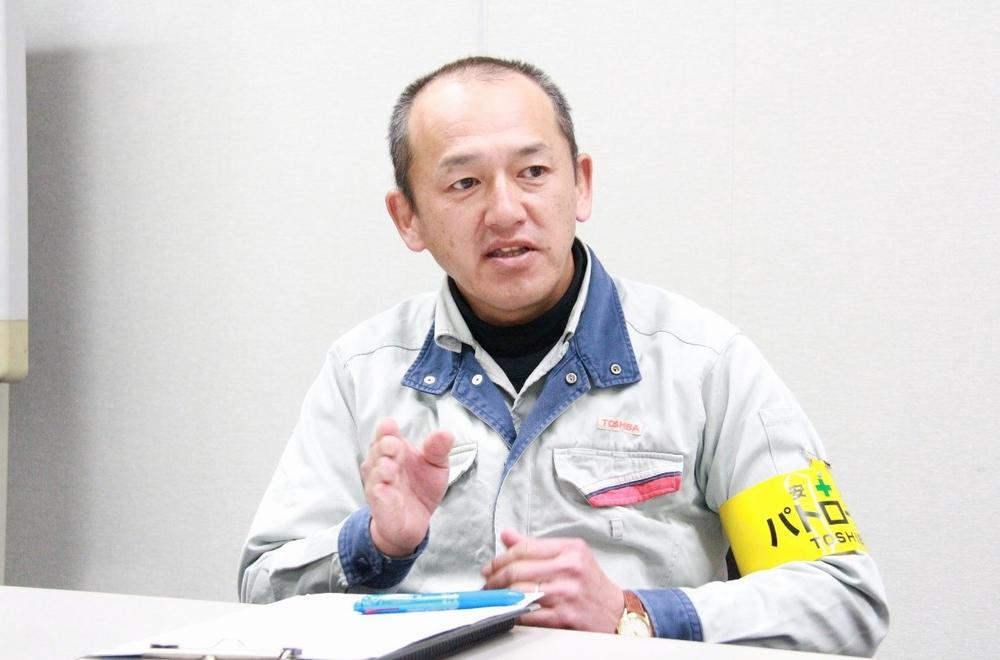 東芝エネルギーシステムズ株式会社 京浜事業所 原動機部 機械第三課 課長 一瀬安幸氏
