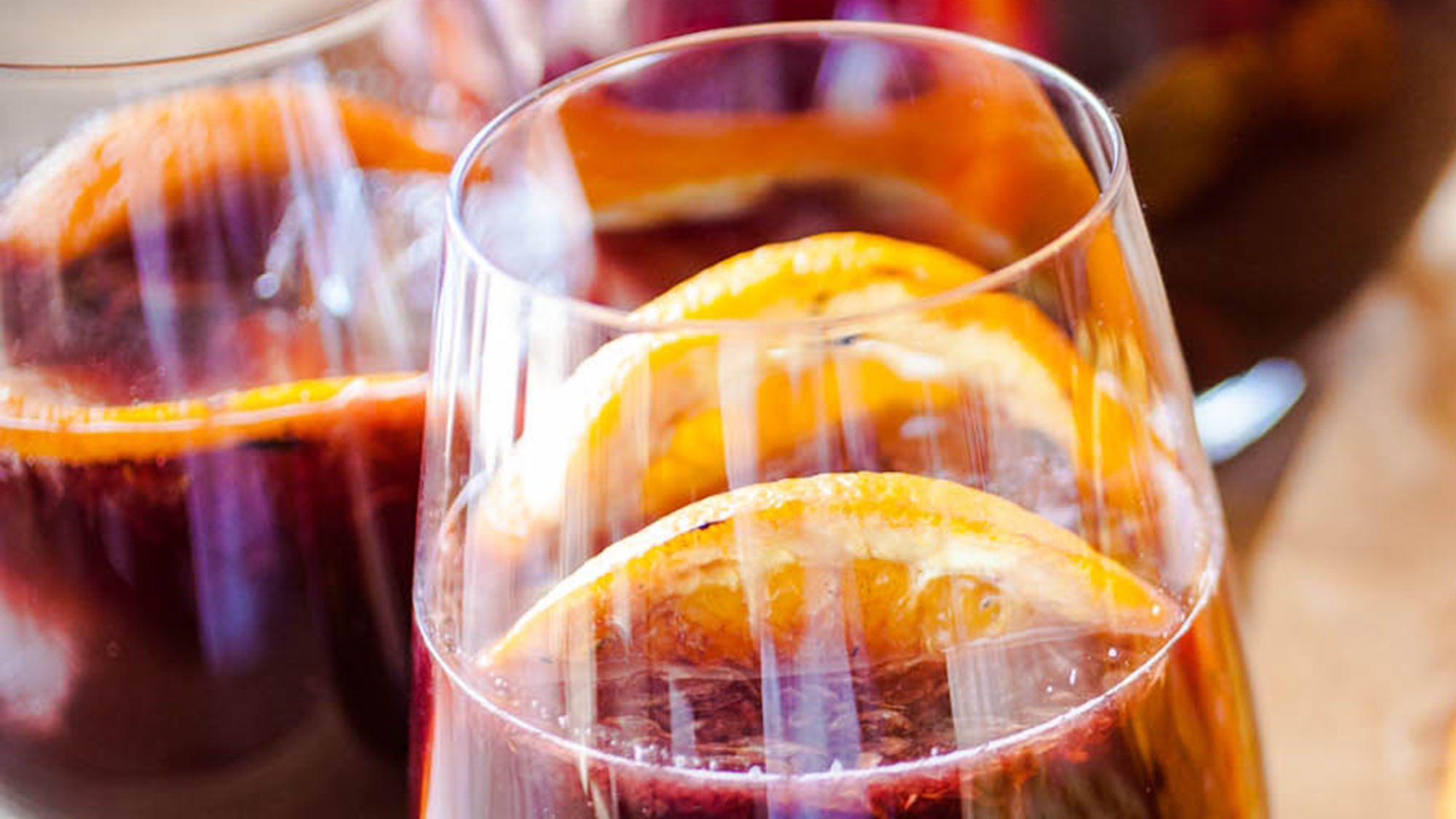 McCormick Summer Sangria with Grilled Fruit