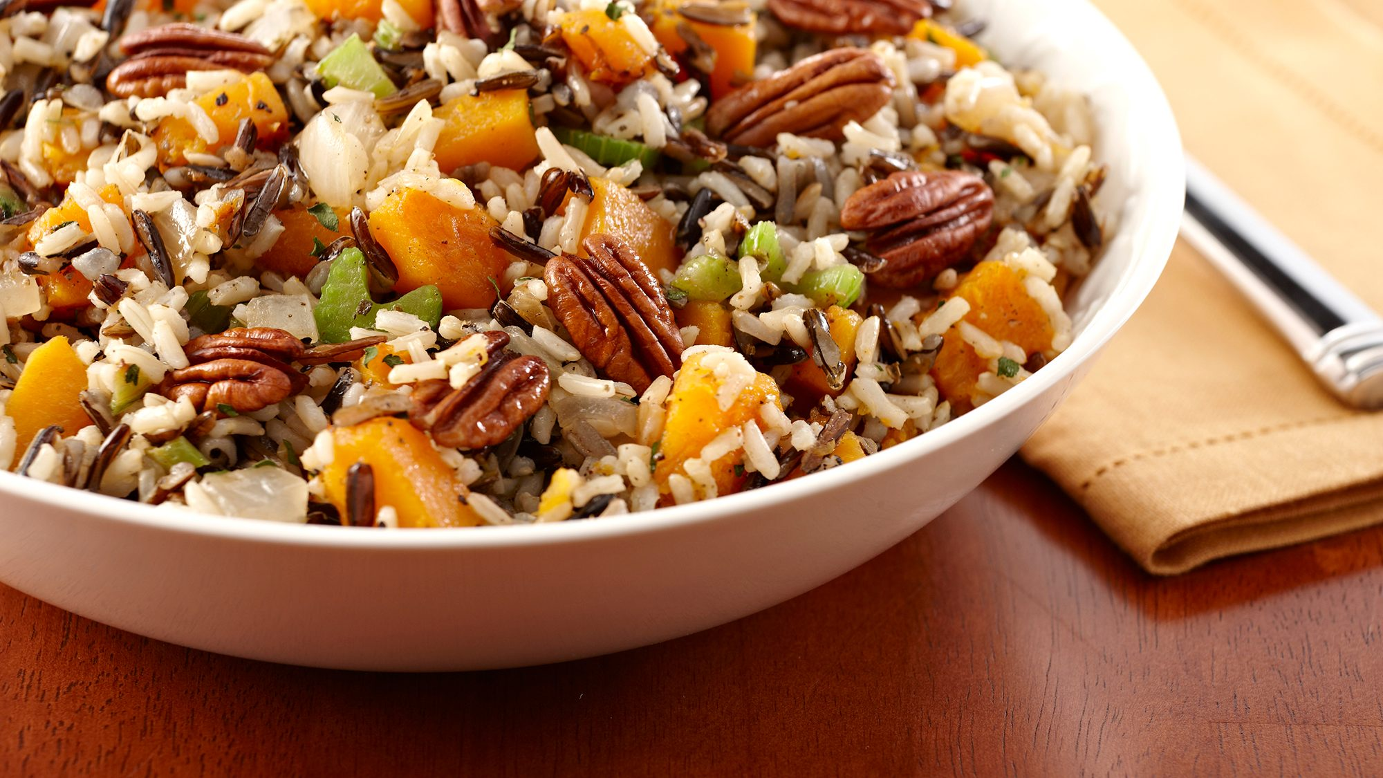 McCormick Herbed Wild Rice and Butternut Squash Stuffing