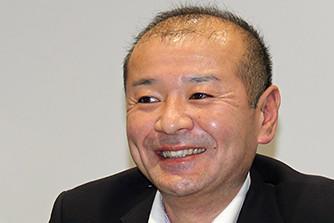 Photo : Hidenori Matsumoto Division Manager, Development Department, Business Systems Division, Corporate Planning Unit, Yanmar Holdings Co., Ltd.