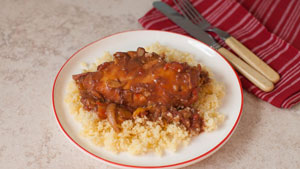 Multi-cooker Moroccan chicken
