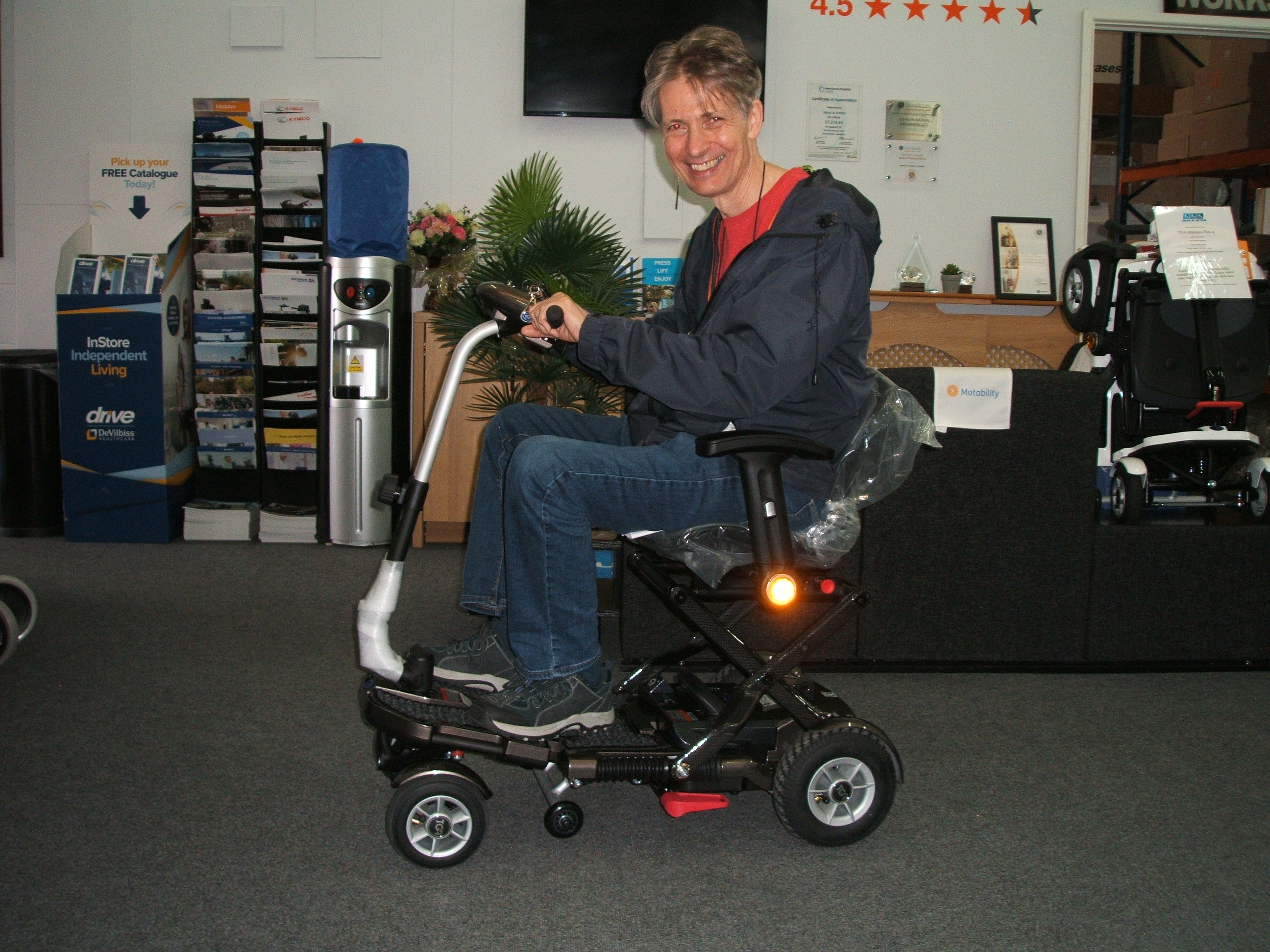 TGA Minimo plus 4 mobility scooter
