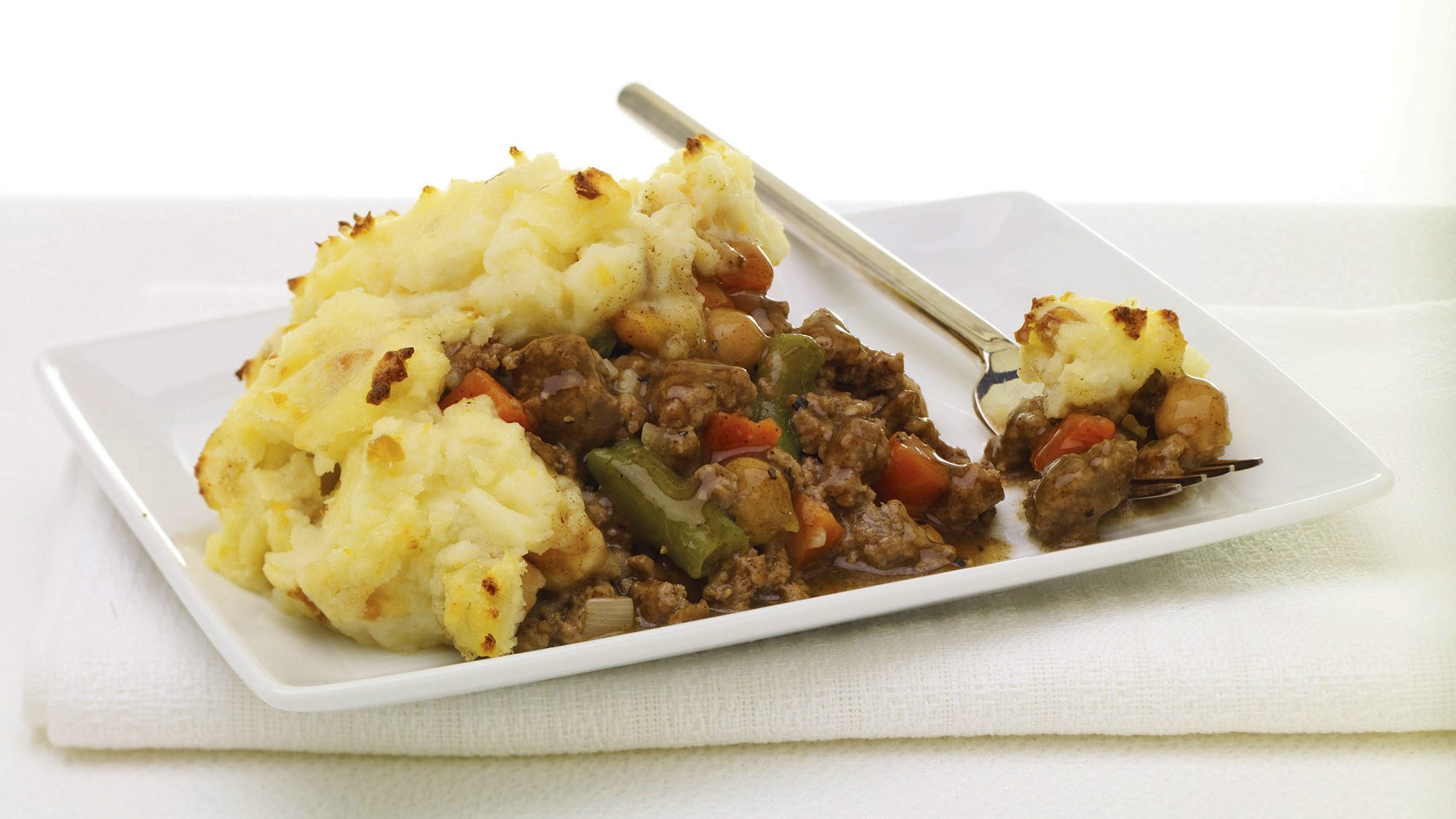 McCormick Gourmet Shepherd's Pie with Cumin and Smashed Chickpeas