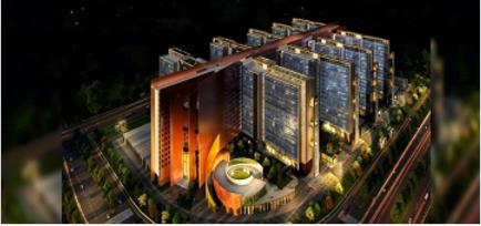 The SDB Diamond Bourse at Surat, Gujarat