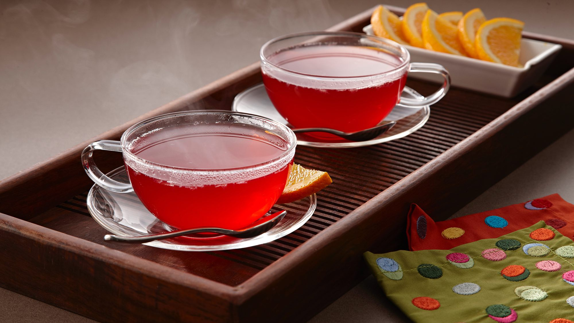 McCormick Warm Spiced Cranberry Punch