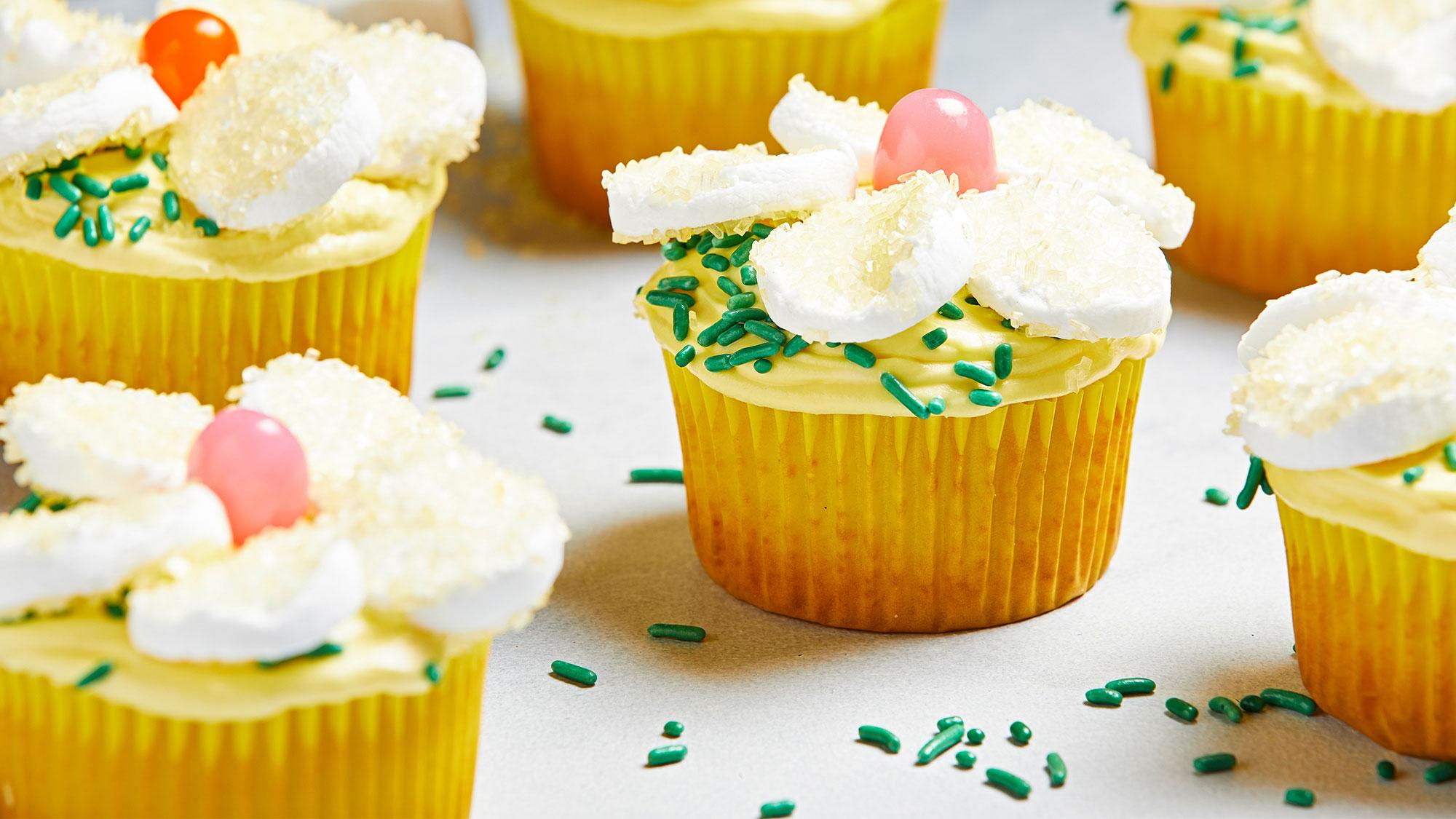 McCormick Lemon Daisy Cupcakes