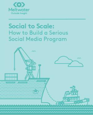 how to build a serious social media program