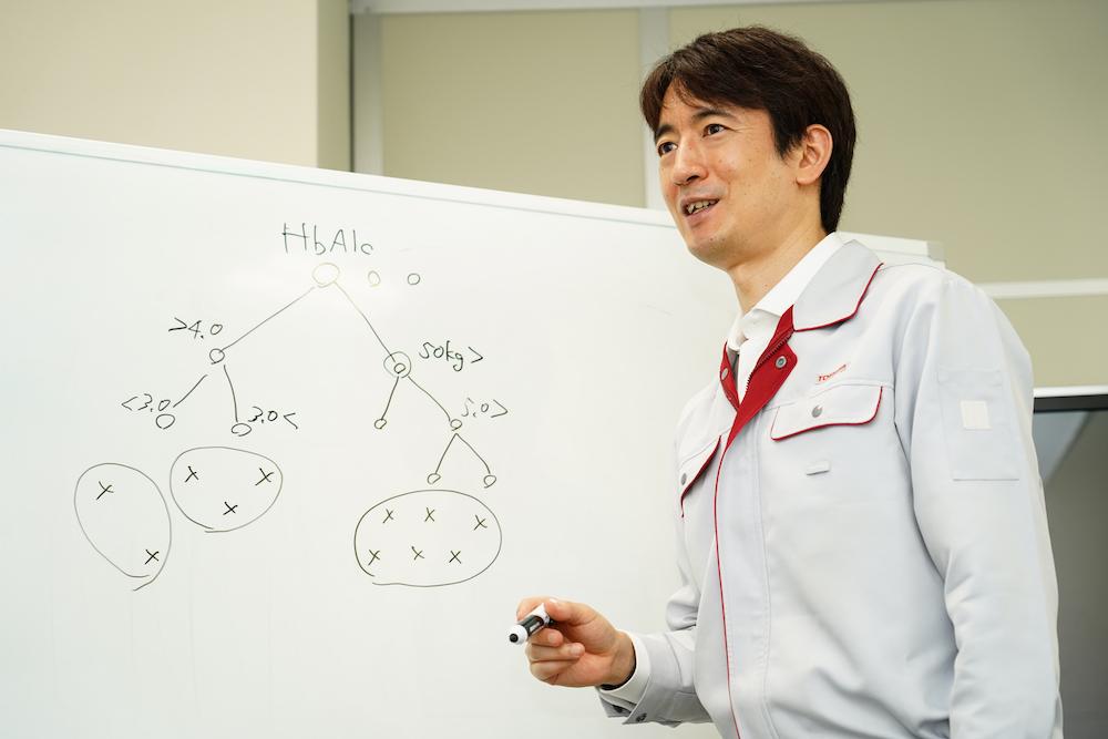 Kosuke Haruki, Expert at the Analytics AI Laboratory, Corporate Research & Development Center, Toshiba Corporation