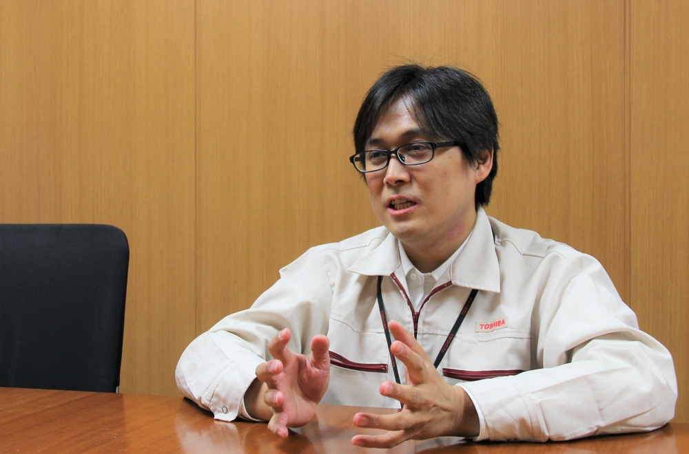 Fumihiko Eya, Mixed Signal IC Division, Toshiba Electronic Devices & Storage Corporation (Title at the time of the interview)