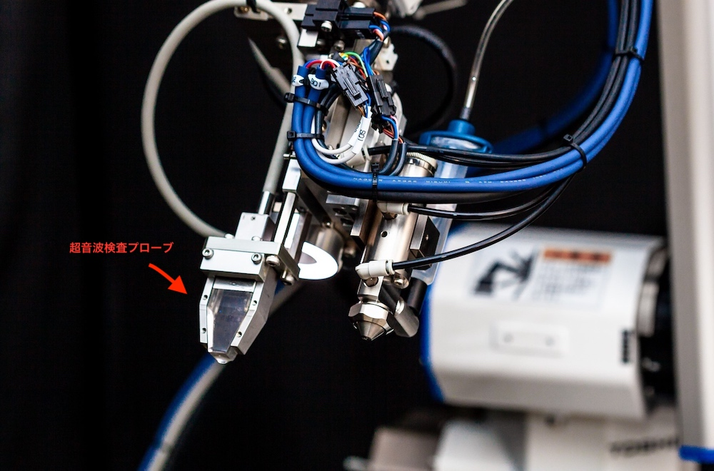 スポット溶接検査ロボット