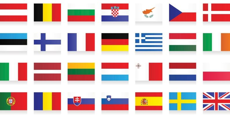 Flags and Maps Illustration Types