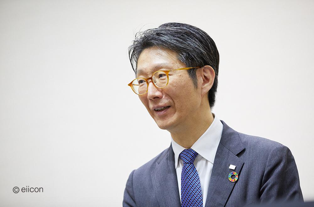 株式会社東芝 執行役上席常務 最高デジタル責任者 島田 太郎氏