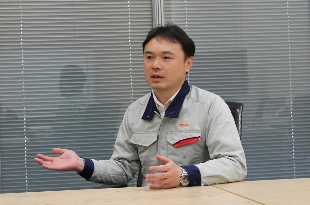 東芝エネルギーシステムズ株式会社 京浜事業所 原子力機器装置部 高見正平氏