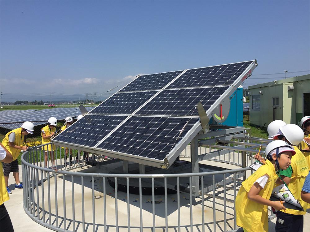 南相馬ソーラー・アグリパーク 太陽光発電