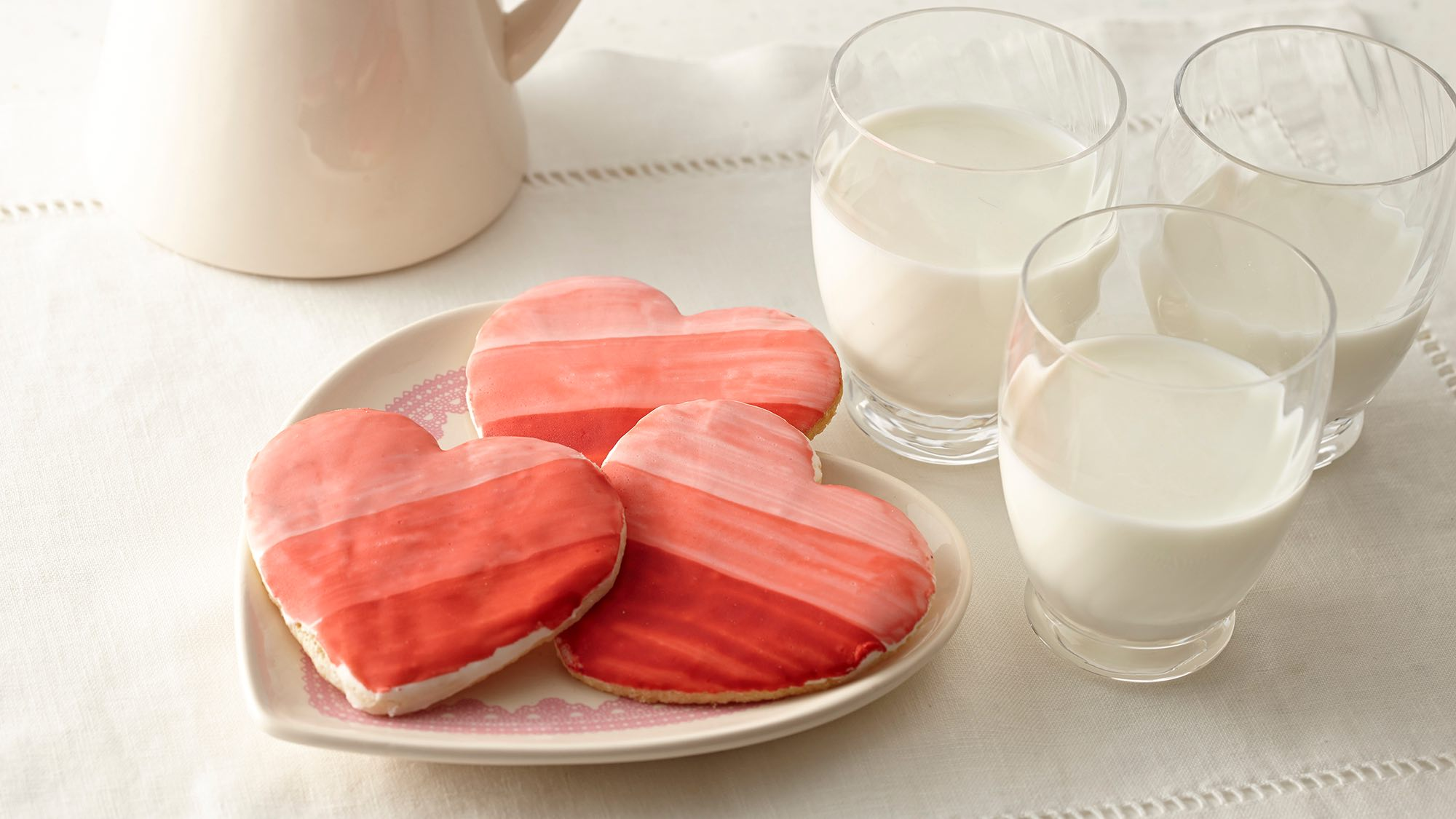 McCormick Heart-Shaped Painted Sugar Cookies