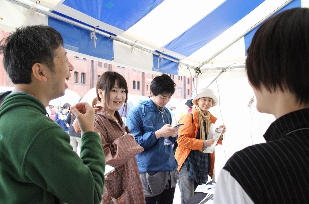 10月21、22日に東京湾大感謝祭にてManhoo!の実証実験が行われた