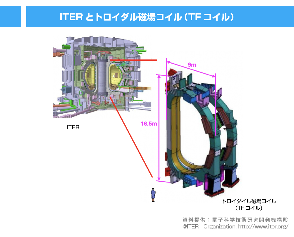 ITERとTFコイル